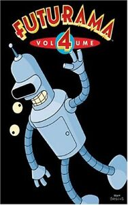 Futurama-Season 4-Good condition + bonus dvd