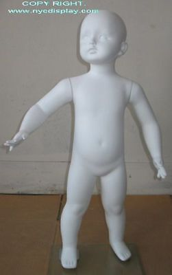 2t3t Size Child Toddler Full Size Mannequin Torso Form White Color New Cb2w