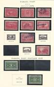 Mint Parcel Post Stamps