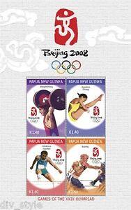 Papua-New-Guinea-2008-Beijing-Olympics-Souvenir-Sheet