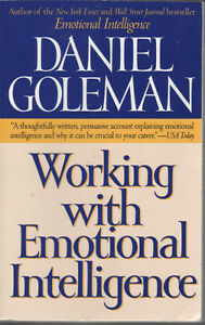 Book for sale: Working with Emotional Intelligence by D.Goleman
