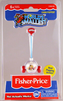 World's Smallest: Fisher Price Corn Popper [New Toy] Toy