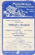 Millwall Programmes