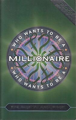 Celador, Who Wants To Be A Millionaire? The Bumper Quiz Book, Very Good, Paperba