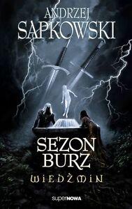 SEZON-BURZ-WIEDZMIN-Andrzej-Sapkowski-wysylka-24h-POLISH-BOOK-JBook