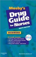 mosby's drug guide for nurses ninth edition
