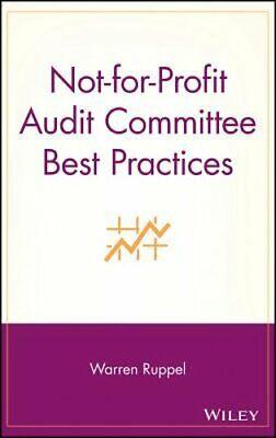 Not-For-Profit Audit Committee Best Practices by Warren Ruppel:
