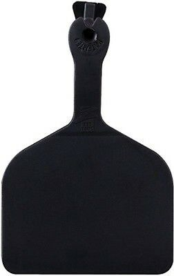 Z-tag Feedlot One Piece Cattlecow Blank Ear Tags Black 50 Count
