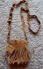 Suede Shoulder Bag Fringe Handbags & Purses