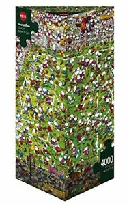 4000pc Crazy World Cup Jigsaw Puzzle (New and Sealed in bag)