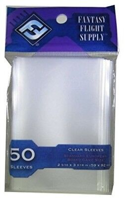 BG Sleeves Std European (50 Pack) [New Games] Table Top Game for sale  Shipping to Canada