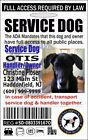 Reflective Dog ID Tags