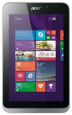 """Acer Iconia W4 8"""" Touchscreen Intel Z3740 1.33GHz/ 2GB 64GB eMMC/ Windows 8.1"""