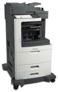 $49.99/Month Only 17K For Lexmark MX811de Monochrome Laser Multifunction Printer Like New Repossessed Toronto (GTA) Preview