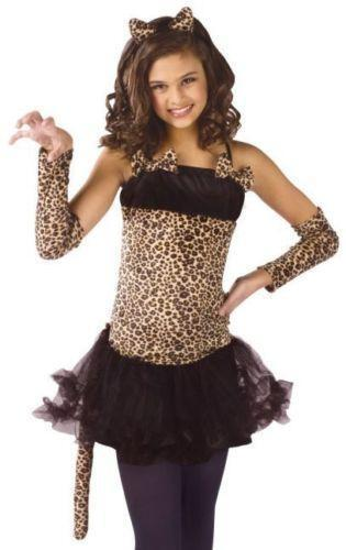 Kids leopard costume ebay for 9 year old boy halloween costume ideas
