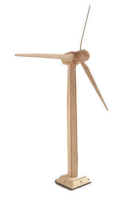Wind Turbine 3D Wooden Modelling Kit Model Jigsaw Puzzle