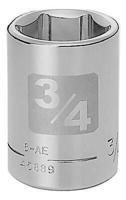 Craftsman 1/2 Laser Etched SAE 6 pt Socket - Any Size STD In