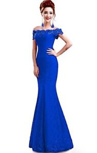 Gorgeous long blue dress