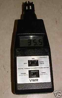 Vwr Digital Humidity Temperature Meter
