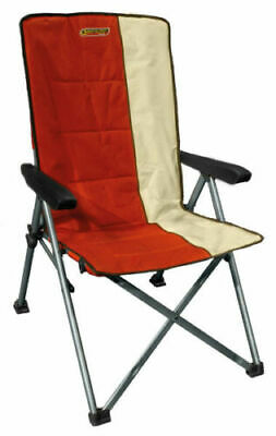 Quest Autograph Cumbria Chair in Paprika and Cream 2019 Camping Caravan Chair