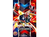 Power Rangers Action Card Game: Rise of Heroes Theme Deck Starter Box : Brand new and unopened