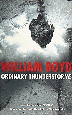 WILLIAM BOYD __ ORDINARY THUNDERSTORMS __ BRAND NEW ___ FREEPOST UK