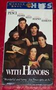 With Honors VHS