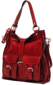 11b24f8815 Red Leather Italian Handbags