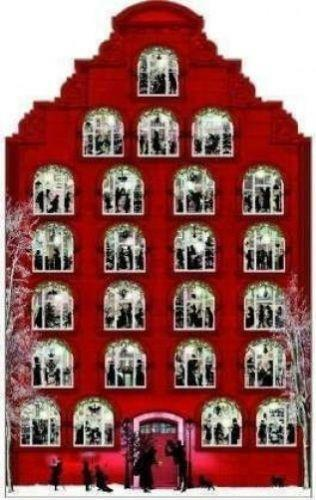 Advent House Ebay