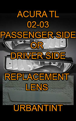 NEW 02 03 ACURA TL TL type S Lexan Fog Light Lens replacment foglight lense