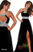 Black Ball Gown Prom Dress