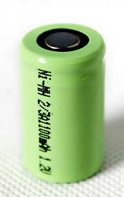 Discharge Nimh Battery - 1.2V 1100mAh 2/3A Rechargeable NiMH Battery Cell/High Discharge Rate(3C)-NEW!