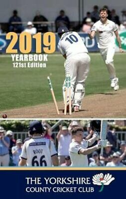 The Yorkshire County Cricket Club Yearbook 2019 by David Warner 9781912101139