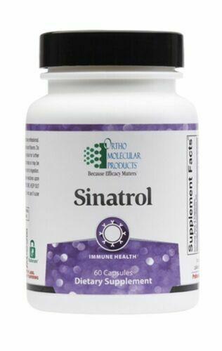 Ortho Molecular Sinatrol 60 Capsules FRESH & FAST