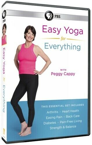 Easy Yoga For Everything With Peggy Cappy [New DVD] Boxed Set