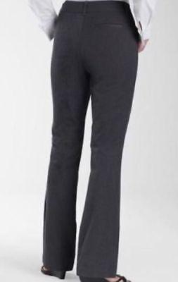 St. John's Bay Comfort Waist Twill Steel Gray Trouser Pants - Plus Size 24W