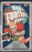 1991 Upper Deck Football Box