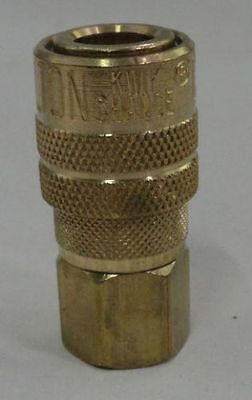 "10 Pack MILTON 715 Air Hose Couplers M style 1/4"" Female NPT Threads"