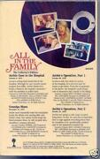 All in The Family VHS