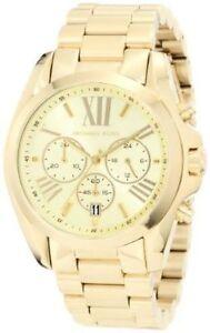 9f0295d33177 Michael Kors Mid-Size Bradshaw Chronograph MK5605 Women sWrist Watch ...
