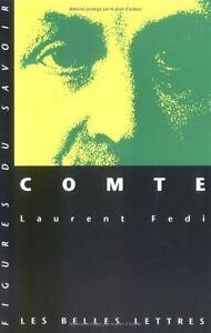 Comte-par-Laurent-Fedi-Figures-du-Savoir-Les-Belles-Lettres-18-Paperback-2004