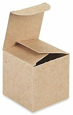 3in. X 3in. X 3in. Kraft Gift Boxes - Pack of 10