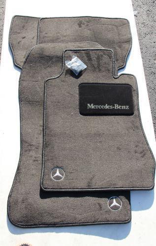 Mercedes benz e class floor mats ebay for Floor mats for mercedes benz
