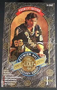 1993-94 LEAF ... SERIES 1 ... INAUGURAL EDITION ... unopened box
