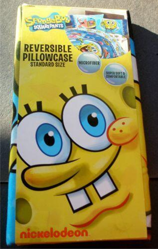 Spongebob Squarepants Throw And Pillow Set : Spongebob Pillow Case eBay