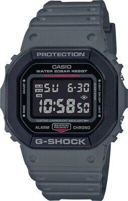 Casio G-Shock * DW5610SU-8 Digital Square Army Grey Resin Watch