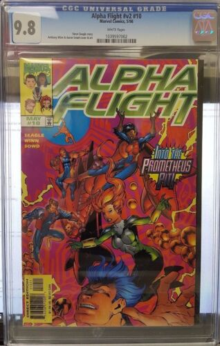 Alpha Flight v2 #10 (May 98) CGC 9.8 NEAR MINT/MINT