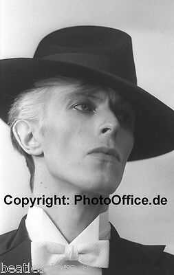 David Bowie in New York 1975, Grammy Awards, seltenes 30x45cm tolles Foto Poster