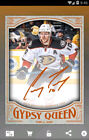 Autographed Hockey Trading Cards Gypsy Queen