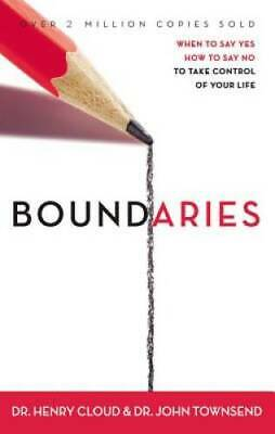 Boundaries: When to Say Yes, How to Say No to Take Control  - VERY GOOD